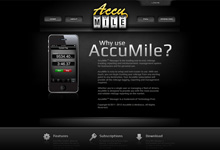 Accu-Mile Website